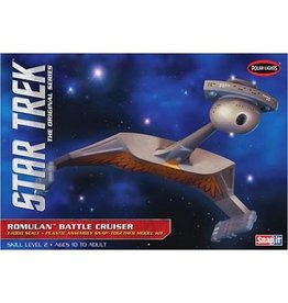 Polar Lights 897 - 1/1000 Star Trek Romulan Battle Cruiser