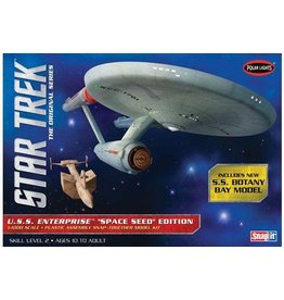 "Polar Lights 908 - 1/100 Star Trek TOS U.S.S. Enterprise ""Space Seed"" Edition"