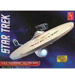 AMT 1080 - 1/537 Star Trek USS Enterprise NCC-1701 Refit