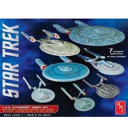 AMT 954 - 1/2500 Star Trek U.S.S. Enterprise - 7 Piece Set