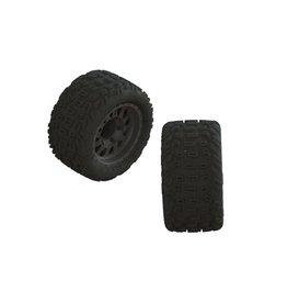 Arrma ARA550091 - 1/10 dBoots Katar MT Pre-Mounted Tire 14mm Hex (2)