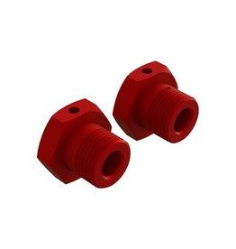 Arrma ARA310904 - Aluminum Wheel Hex 17mm Red (2)