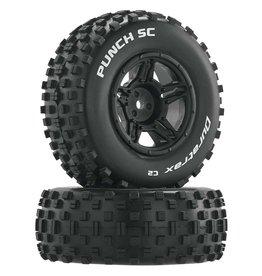 Duratrax DTXC3705 - Punch SC C2 Front Rear Mounted Tires: Slash 4x4 Blitz