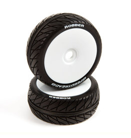 Duratrax DTXC2970 - SpeedTreads 1/8 Buggy Robber Mounted Tires