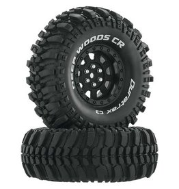 "Duratrax DTXC4026 - Deep Woods CR C3 Mounted 1.9"" Crawler Tires - Black"