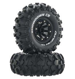 "Duratrax DTXC4050 - Showdown CR C3 Mounted 2.2"" Crawler Tires - Black"