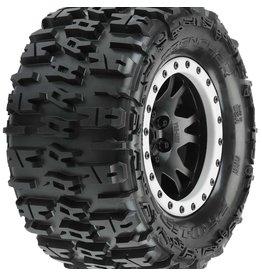 "Pro-Line PRO1015113 - Trencher 4.3"" X-MAXX MTD Impulse Front/Rear Tire - Black/Gray"