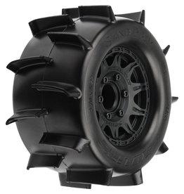 """Pro-Line PRO118610 - Sand Paw 2.8"""" MTD Raid Black 6x30 F/R"""