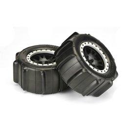 "Pro-Line PRO1014613 - Sling Shot 4.3"" Pro-Loc Mounted Paddle Tires: X-Maxx"