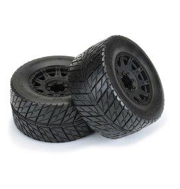 "Pro-Line PRO1016710 - Street Fighter HP 3.8"" BELTED Tires MTD Raid Wheels"