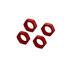 Arrma ARA310929 - Aluminum Wheel Nut 24mm - Red