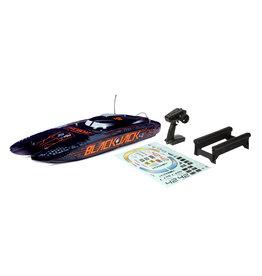 "Pro Boat Blackjack 42"" 8S Brushless Catamaran RTR - Black/Orange"