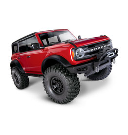 Traxxas 1/10 TRX-4 2021 Bronco Scale and Trail Crawler RTR - Red