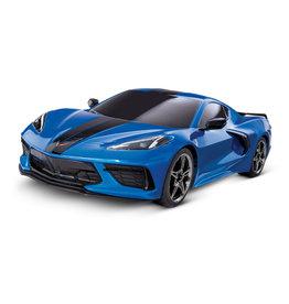 Traxxas 1/10 4-Tec 3.0 C8 Corvette Stingray AWD RTR Supercar - Blue
