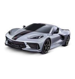 Traxxas 1/10 4-Tec 3.0 C8 Corvette Stingray AWD RTR Supercar - Silver