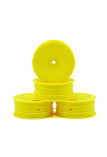 JConcepts JCO3347Y - Front Mono, 12mm Hex Wheel, Yellow: B5, B4.1, RB5