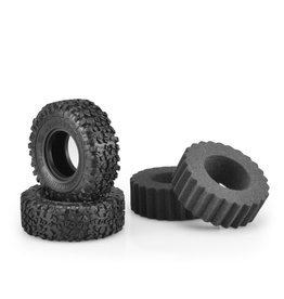 """JConcepts JCO316402 - Landmines, Green Compound, 1.9"""" (4.19"""" O.D.) Scale Country Tires"""