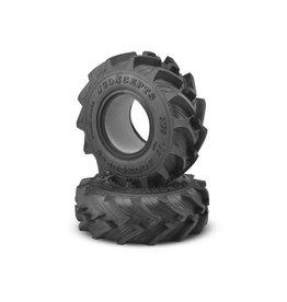 "JConcepts JCO315501 - Fling King Mega Truck Tire, 2.6"", Soft, Blue Compound"
