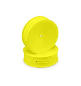JConcepts JCO3376Y - Mono Slim Front 2.2 Wheel, Yellow (4): B5M, RB6