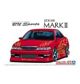 Aoshima 06132 - 1/24 '98 BN Sports Toyota JZX100 MarkII