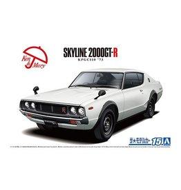 Aoshima 05951 - 1/24 '73 Nissan KPGC110 Skyline HT2000GT-R