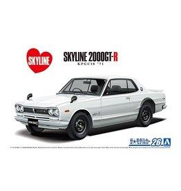 Aoshima 06106 - 1/24 '71 Nissan KPGC10 Skyline HT2000GT-R