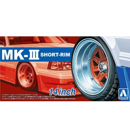 Aoshima 05545 - 1/24 MARK3 Short-Rim - 14 Inch Wheels