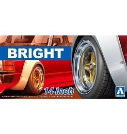 Aoshima 05470 - 1/24 BRIGHT - 14 Inch Wheels