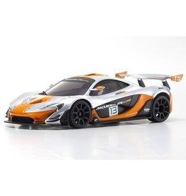 Kyosho 32324SO - MINI-Z RWD McLaren P1 GTR Silver/Orange MR-03 - Readyset
