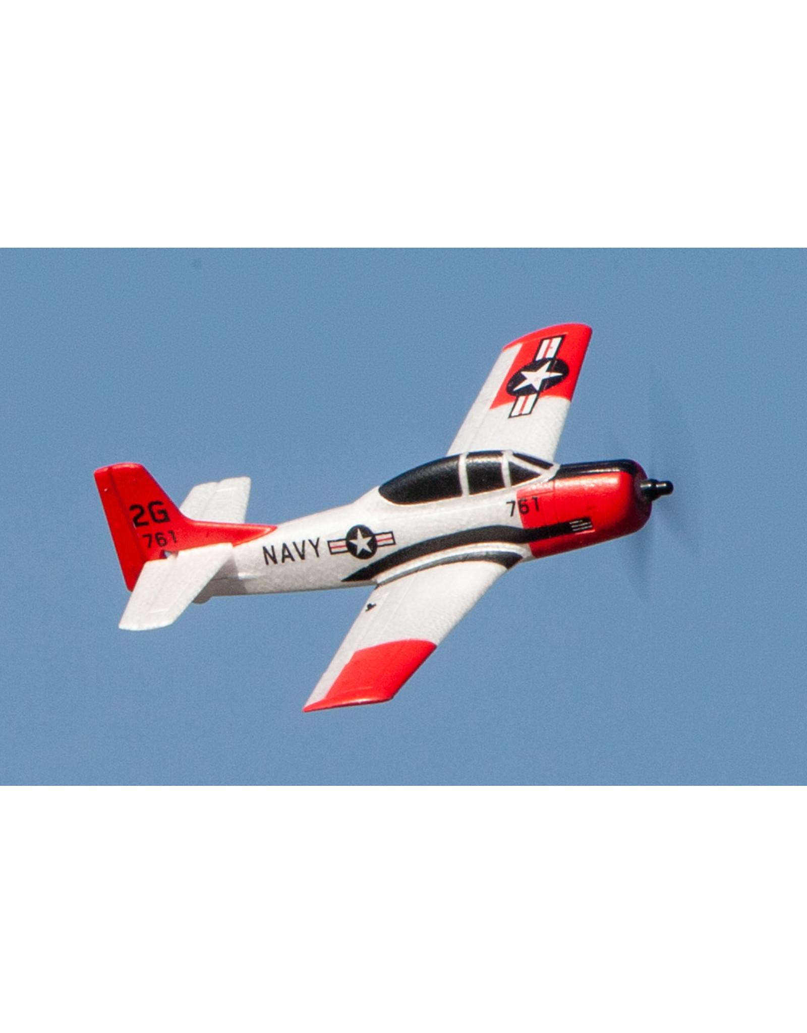 Rage RC RGRA1302 - T-28 Trojan Micro RTF Airplane w/PASS