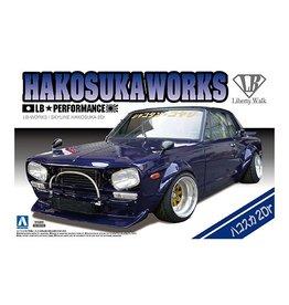 Aoshima 01149 - 1/24 LB Works Hakosuka 2Dr