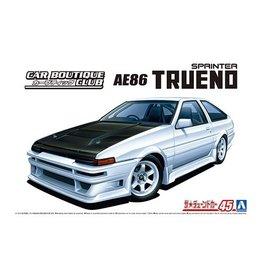 Aoshima 05863 - 1/24 Car Boutique Club AE86 Trueno '85 Toyota