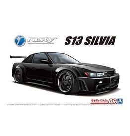 Aoshima 05947 - 1/24 RASTY S13 Silvia '91 Nissan