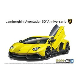 Aoshima 05982 - 1/24 '13 Lamborghini Aventador 50th Anniversary Edition