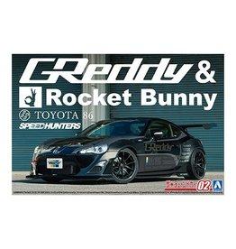 Aoshima 06187 - 1/24 ZN6 Toyota 86 '12 Greddy & Rocket Bunny Volk Racing Ver.