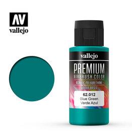 Vallejo 62.012 - Premium Airbrush Color Blue-Green - 60ml
