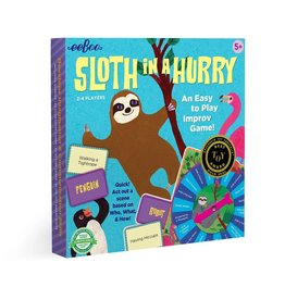 Eeboo Sloth in a Hurry