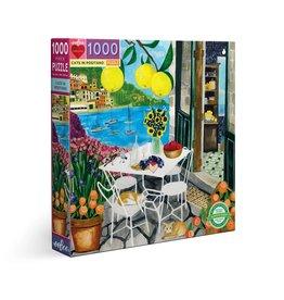Eeboo Cats in Positano - 1000 Piece Puzzle