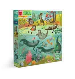 Eeboo Otters - 1000 Piece Puzzle