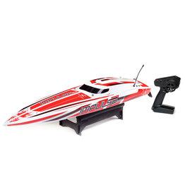 "Pro Boat PRB08037T2 -  Impulse 32"" Brushless Deep-V RTR with Smart - White/Red"