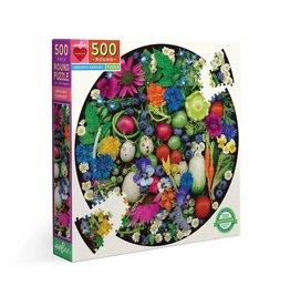 Eeboo Organic Harvest - 500 Piece Puzzle