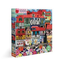 Eeboo Whimsical Village - 1000 Piece Puzzle