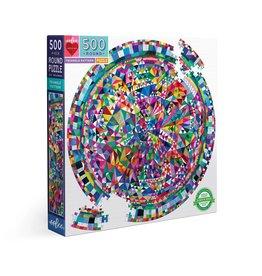 Eeboo Triangle Pattern - 500 Piece Puzzle