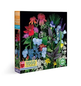 Eeboo Summer Garden Sampler - 1000 Piece Puzzle
