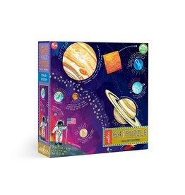 Eeboo Solar System - 64 Piece Puzzle