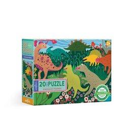 Eeboo Dinosaur Friends - 20 Piece Puzzle