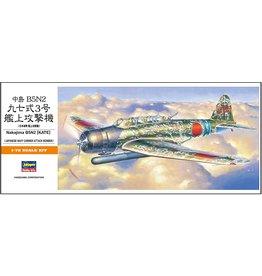 Hasegawa 137 - 1/72 Nakajima B5N2 (Kate)