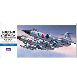 Hasegawa 446 - 1/72 F-104J/CF-104 Starfighter