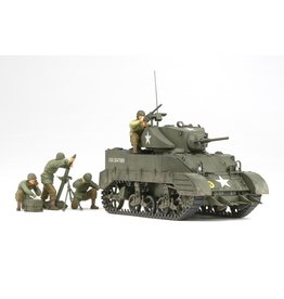 Tamiya 35313 - 1/35 US Light Tank M5A1