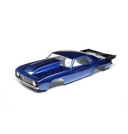 Losi LOS230092 - '69 Camaro Body Set, Blue: 22S Drag